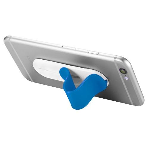 Compress smartphone stand in blue