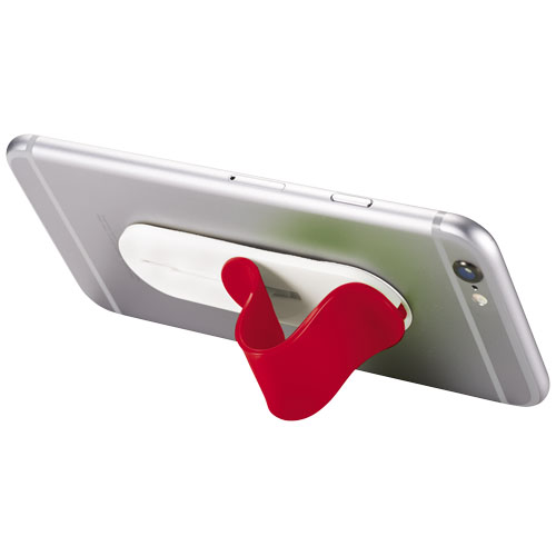Compress smartphone stand in red