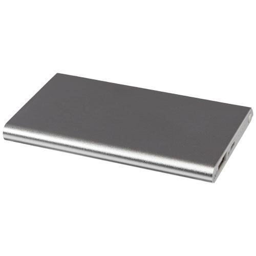 Pep 4000 mAh power bank in silver