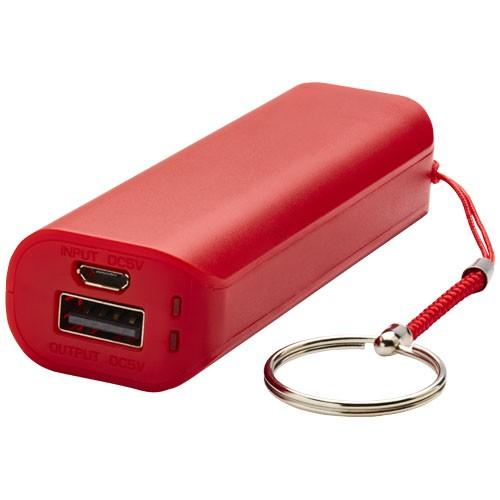 Span 1200 mAh power bank in red