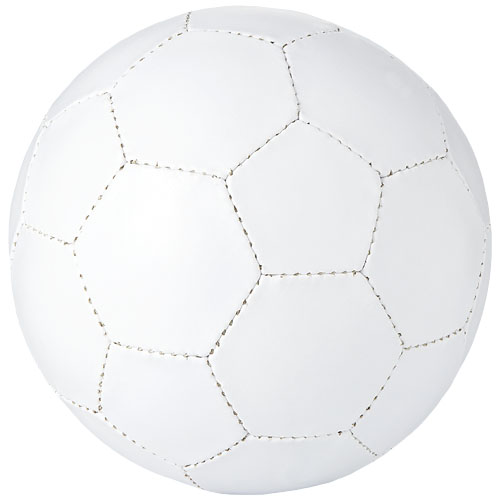 Impact size 5 football in white-solid