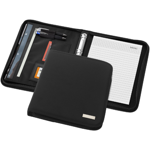 Stanford deluxe A4 zippered portfolio in