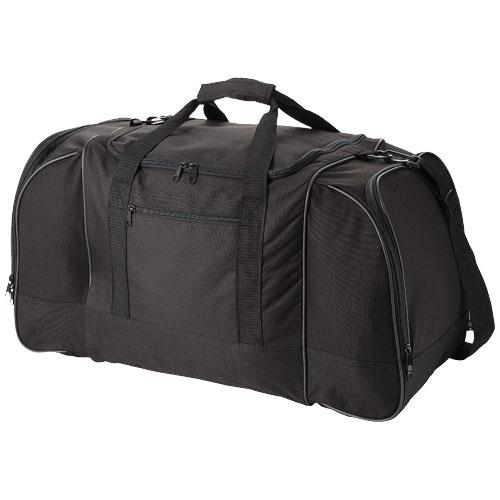 Nevada travel duffel bag in black-solid