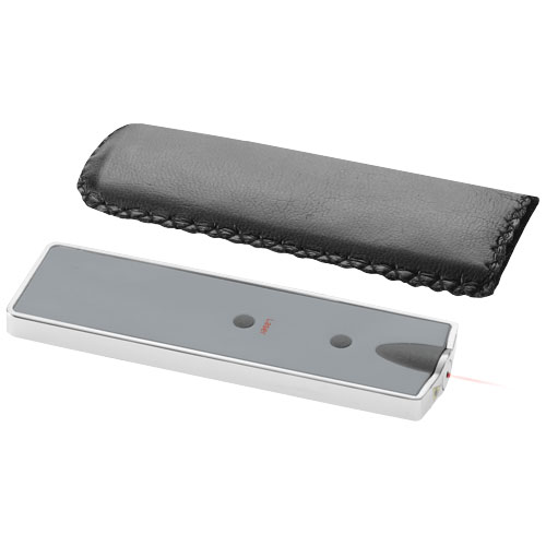 Patel laser pointer with LED in white-solid