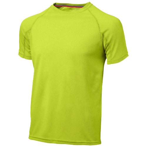 Serve short sleeve men's cool fit t-shirt in apple-green