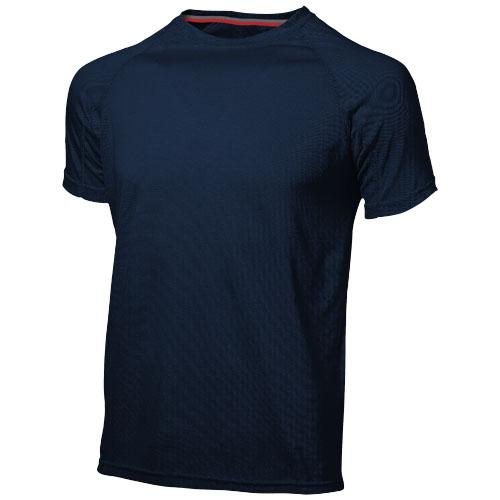 Serve short sleeve men's cool fit t-shirt in navy