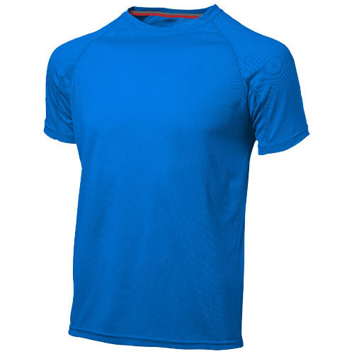 Serve short sleeve men's cool fit t-shirt in sky-blue