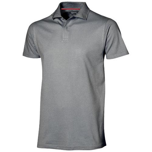 Advantage short sleeve men's polo in grey