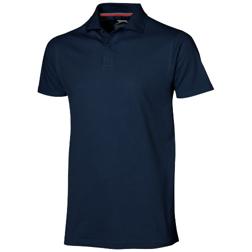 Advantage short sleeve men's polo in navy
