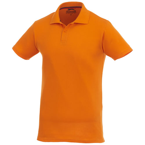 Advantage short sleeve men's polo in orange