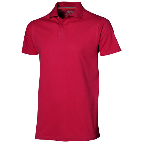Advantage short sleeve men's polo in red