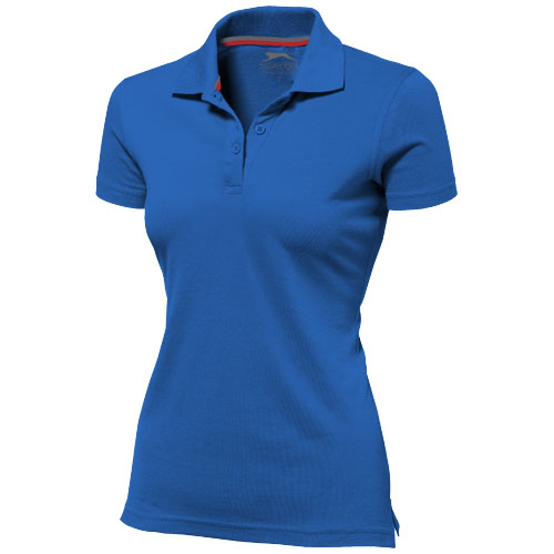 Advantage short sleeve women's polo in classic-royal-blue