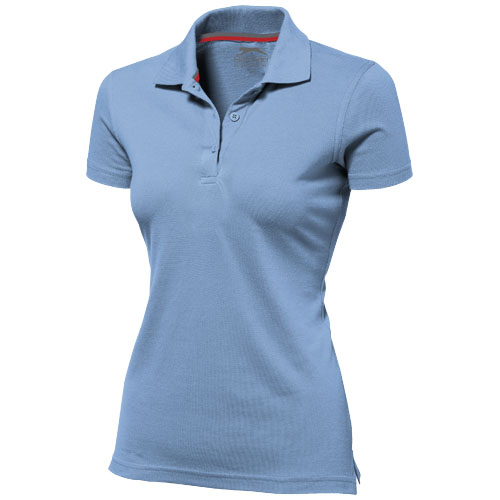 Advantage short sleeve women's polo in light-blue