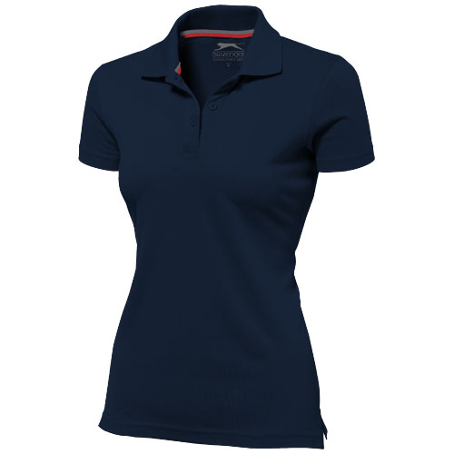 Advantage short sleeve women's polo in navy