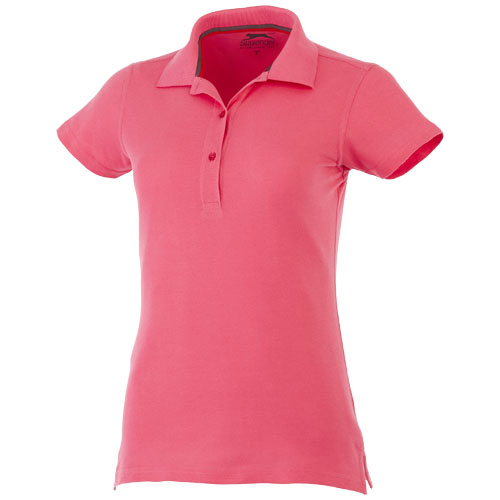 Advantage short sleeve women's polo in pink
