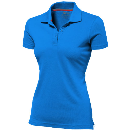 Advantage short sleeve women's polo in sky-blue