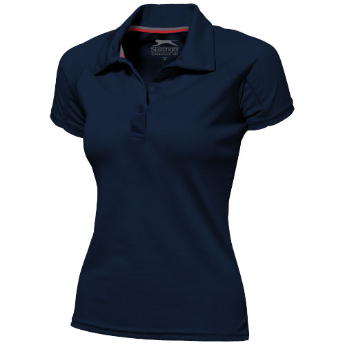 Game short sleeve women's cool fit polo in navy