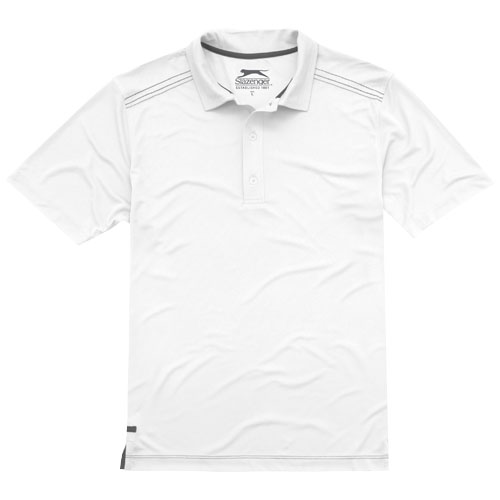 Receiver short sleeve Polo in white-solid
