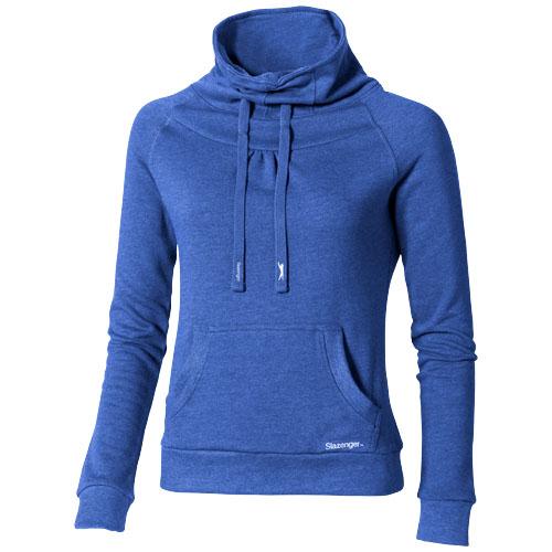 Racket ladies Sweater in heather-blue