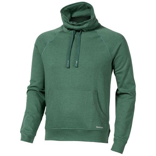 Racket sweater in heather-green