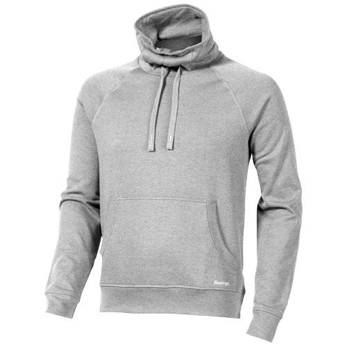 Racket sweater in heather-grey