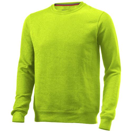 Toss crew neck sweater in apple-green