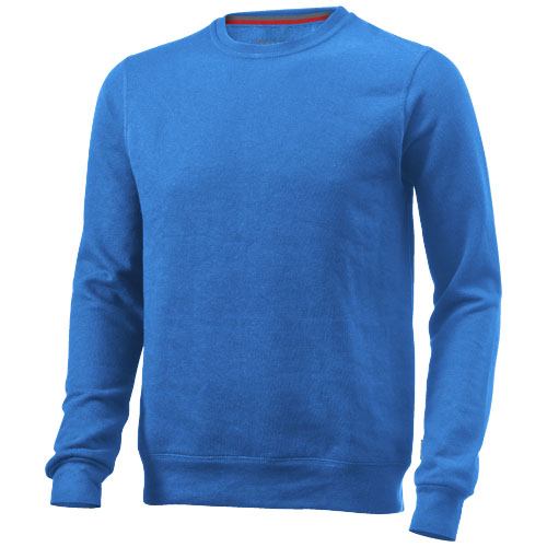 Toss crew neck sweater in sky-blue