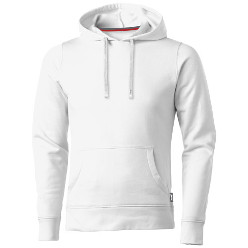 Alley hooded Sweater in white-solid