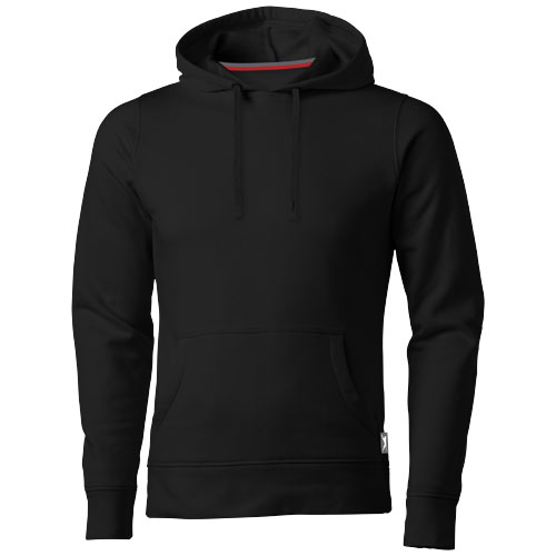 Alley hooded Sweater in black-solid