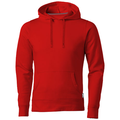 Alley hooded Sweater in red