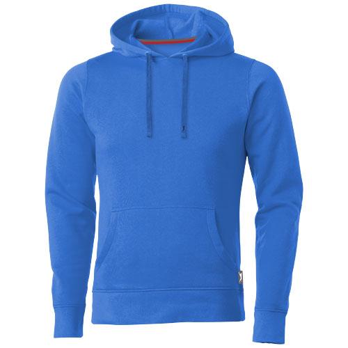 Alley hooded Sweater in sky-blue