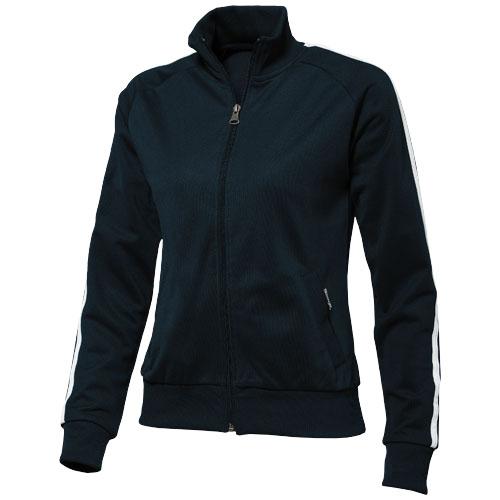 Court Full Zip Ladies Sweater in navy