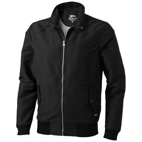 Hawk jacket. in black-solid
