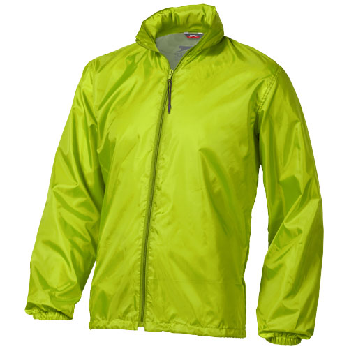 Action jacket in apple-green