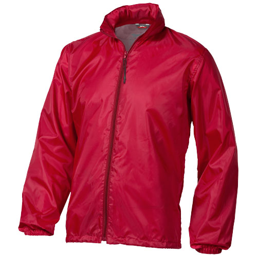 Action jacket in red