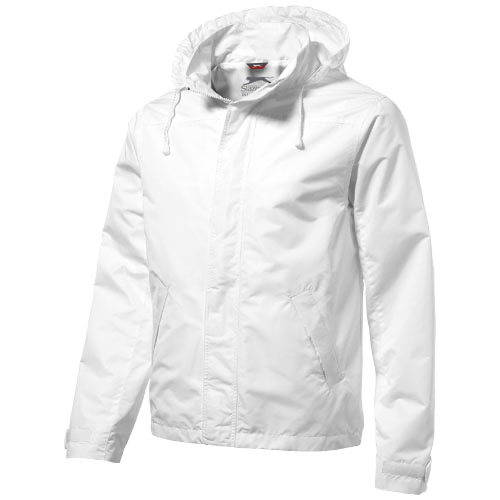 Top Spin jacket in white-solid