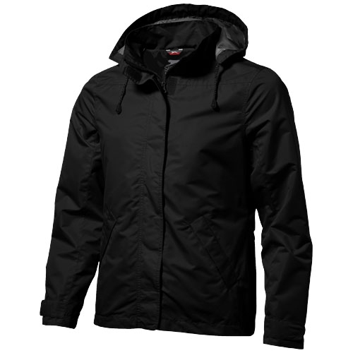 Top Spin jacket in black-solid