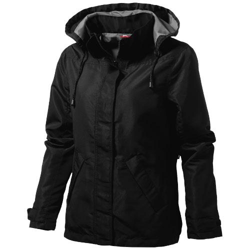 Top Spin ladies jacket in black-solid