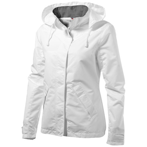 Top Spin ladies jacket in white-solid