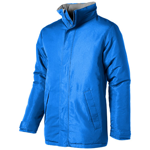 Under Spin insulated jacket in sky-blue