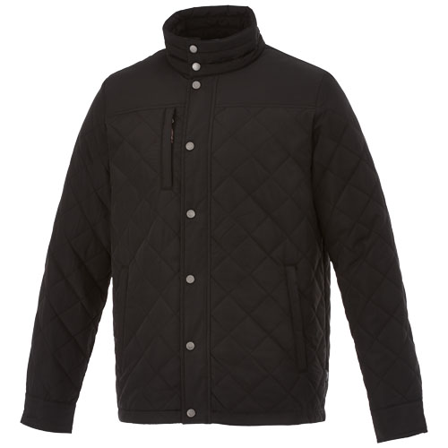 Stance insulated jacket in black-solid