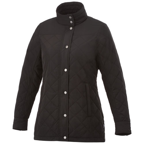 Stance ladies insulated jacket in black-solid