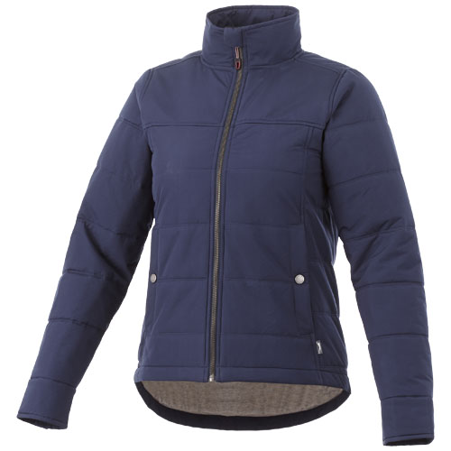 Bouncer insulated ladies jacket in navy