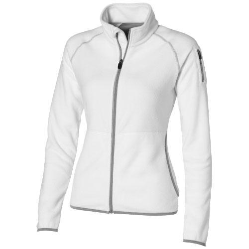 Drop shot full zip micro fleece ladies jacket in