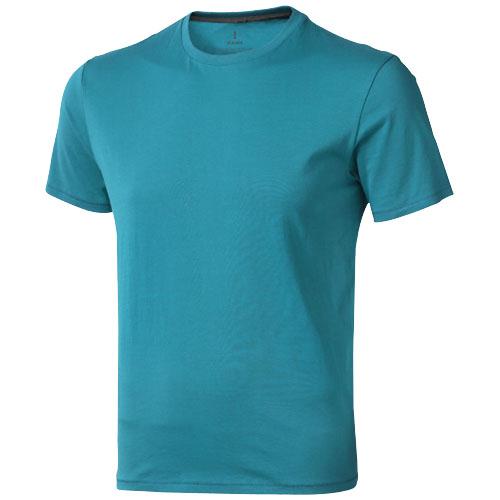 Nanaimo short sleeve men's t-shirt in aqua