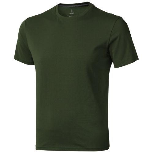Nanaimo short sleeve men's t-shirt in army-green