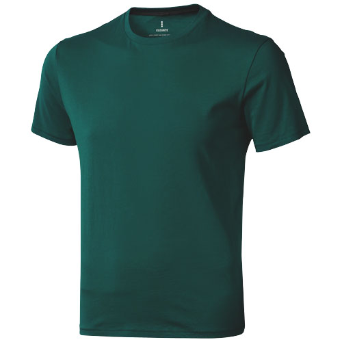 Nanaimo short sleeve men's t-shirt in forest-green