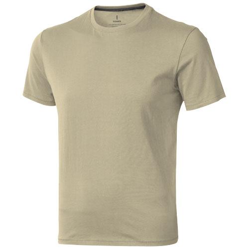 Nanaimo short sleeve men's t-shirt in khaki
