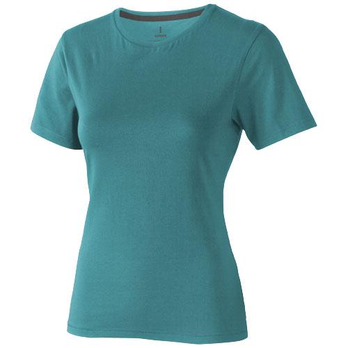 Nanaimo short sleeve women's T-shirt in aqua
