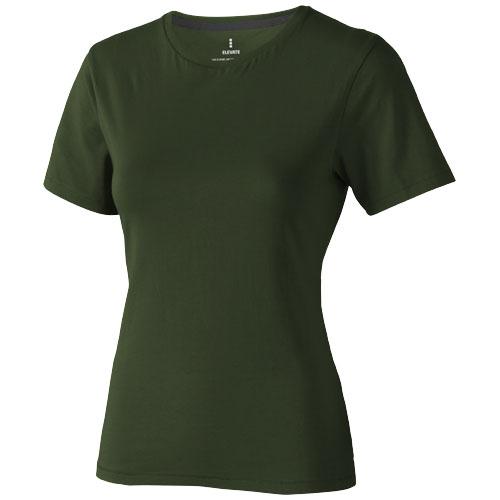 Nanaimo short sleeve women's T-shirt in army-green